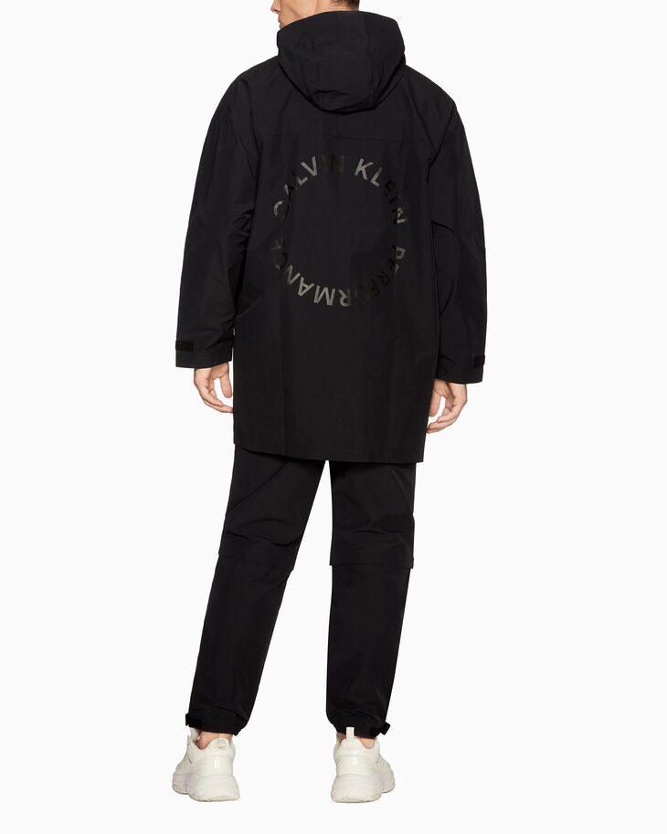 CALVIN KLEIN SPACE LINES OVERSIZED ANORAK