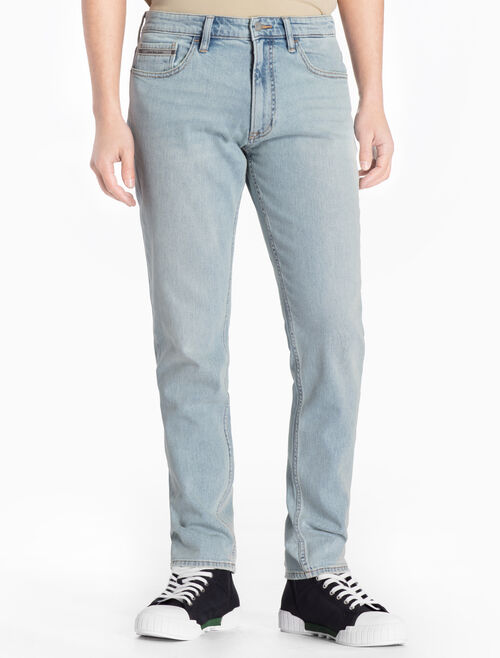 CALVIN KLEIN BERLIN BLUE STRAIGHT TAPERED JEANS
