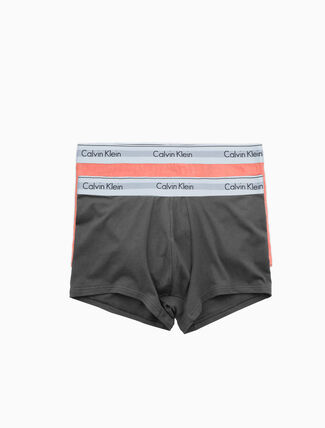 CALVIN KLEIN MODERN COTTON STRETCH 2-PACK TRUNK