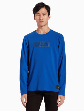 CALVIN KLEIN INSTITUTIONAL LOGO TEE