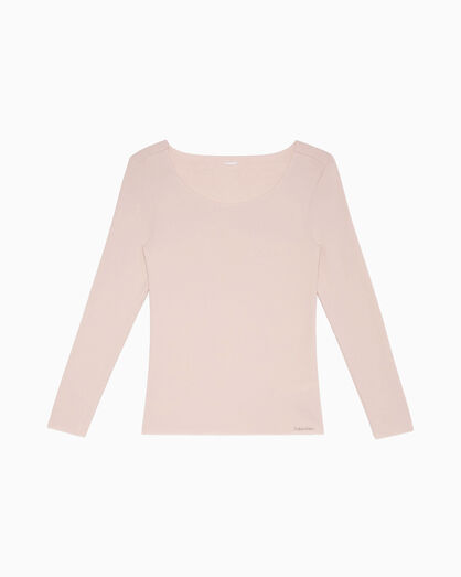 CALVIN KLEIN WARMWEAR NEWNESS SLEEP TOP