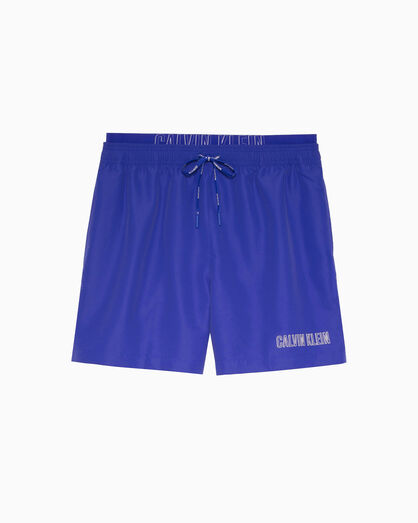 CALVIN KLEIN INTENSE POWER 2.0 DOUBLE WAIST SWIM SHORTS