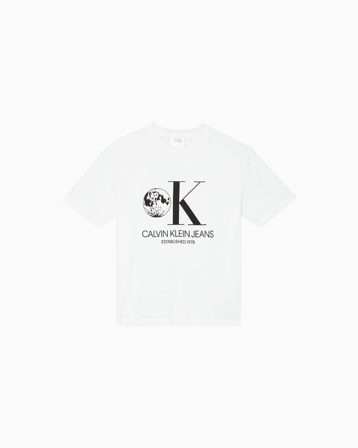 CALVIN KLEIN GRAPHIC 印花上衣