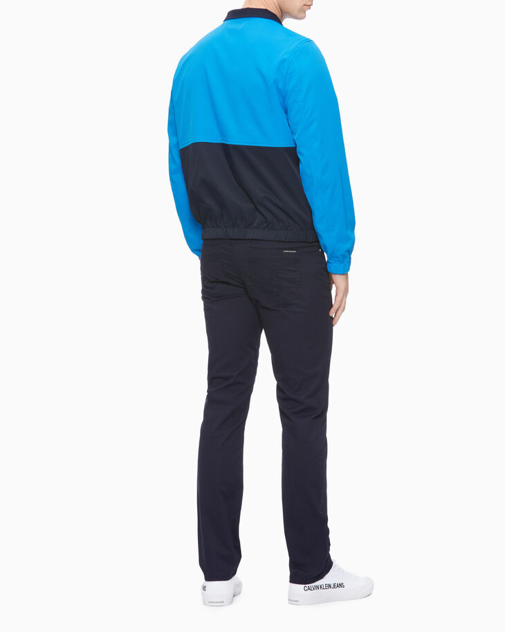 CALVIN KLEIN 37.5 REVERSIBLE COLOR BLOCK ハリントンジャケット