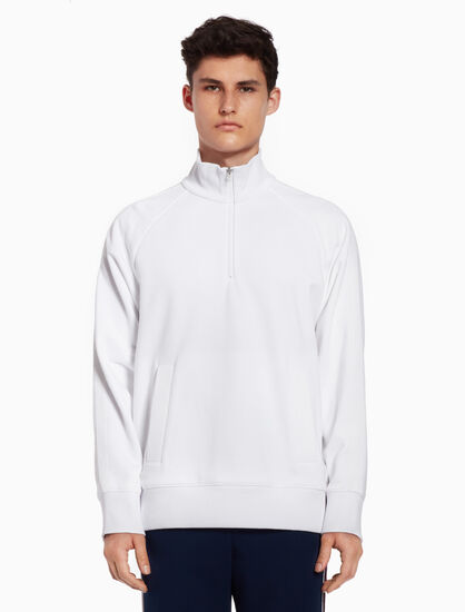 CALVIN KLEIN Stand-up collar sweatshirt