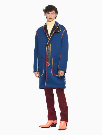 CALVIN KLEIN 超大太空棉大衣