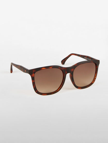 CALVIN KLEIN GLAM SQUARE SUNGLASSES
