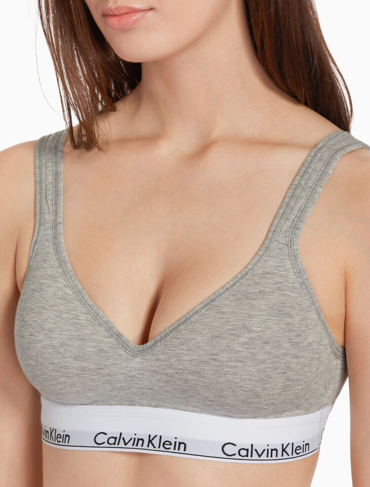 CALVIN KLEIN SCOOP BACK LIGHTLY LINED BRALETTE