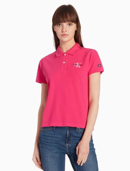 CALVIN KLEIN MONOGRAM ポロシャツ