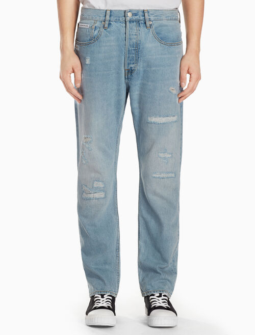 CALVIN KLEIN CKJ 036 MEN RELAXED ABBY BLUE JEANS