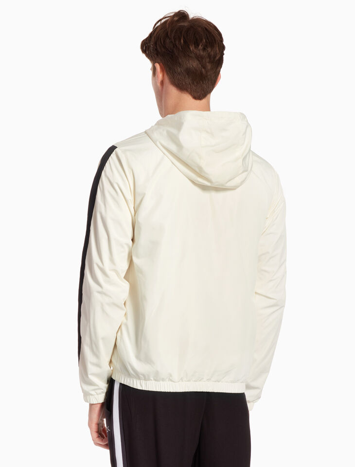CALVIN KLEIN RE-EMERGE HOODED WINDBREAKER