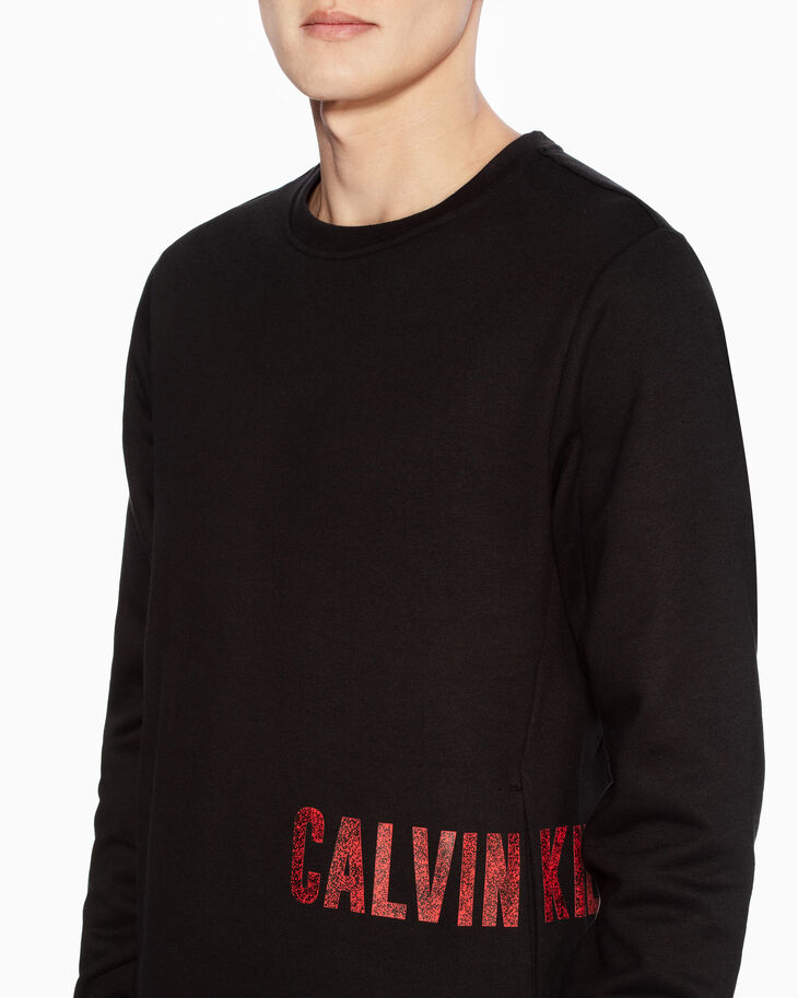 CALVIN KLEIN GALAXY LOGO SWEATSHIRT