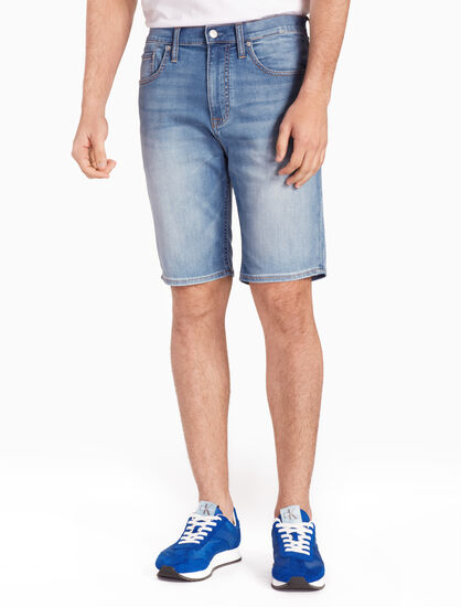 CALVIN KLEIN TAPER DENIM SHORTS