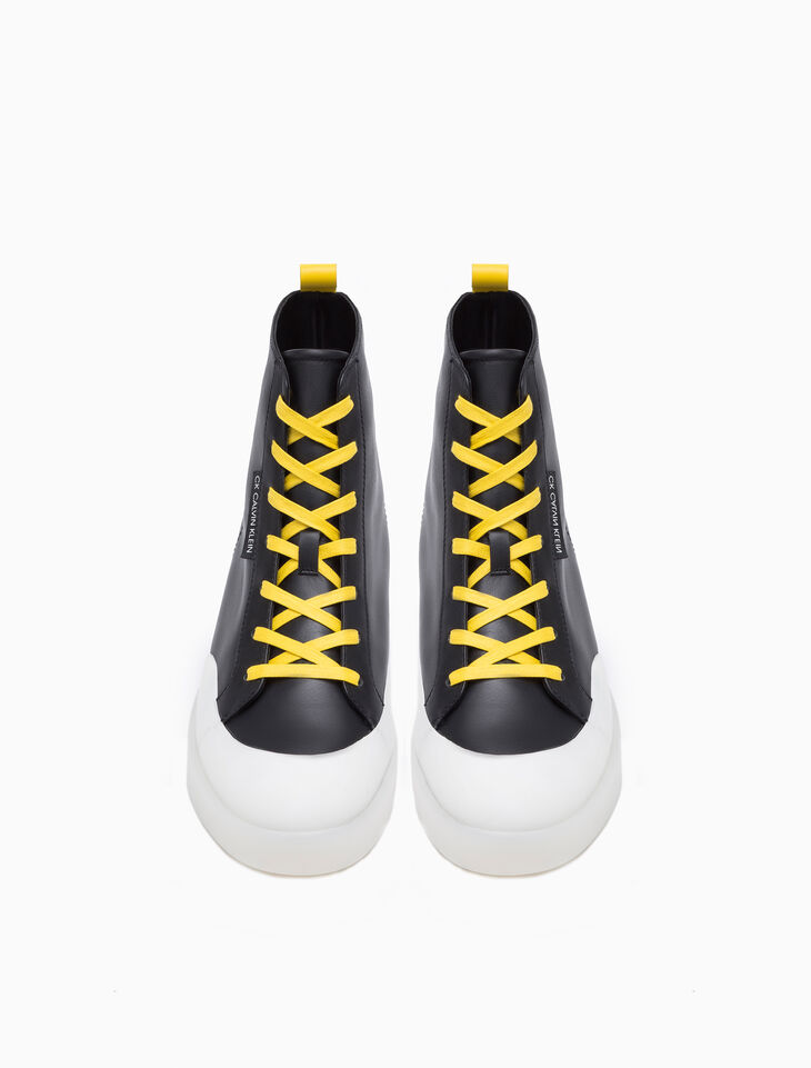 CALVIN KLEIN FOYLE HIGH TOP SNEAKERS