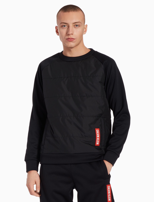 Pullover Kong Klein Sweatshirt Hong Calvin Quilted Buy gwq5Ppc
