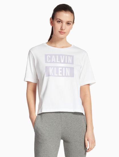 CALVIN KLEIN BOX LOGO RELAXED FIT TEE