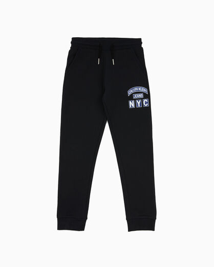 CALVIN KLEIN COTTON TERRY JOGGERS
