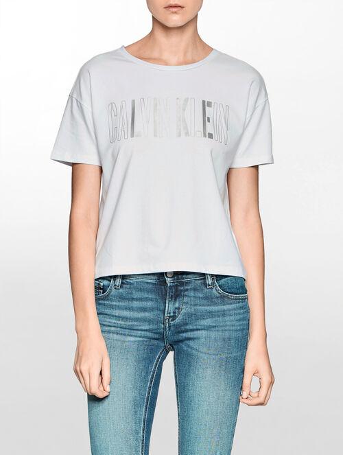 CALVIN KLEIN CalvinロゴTシャツ