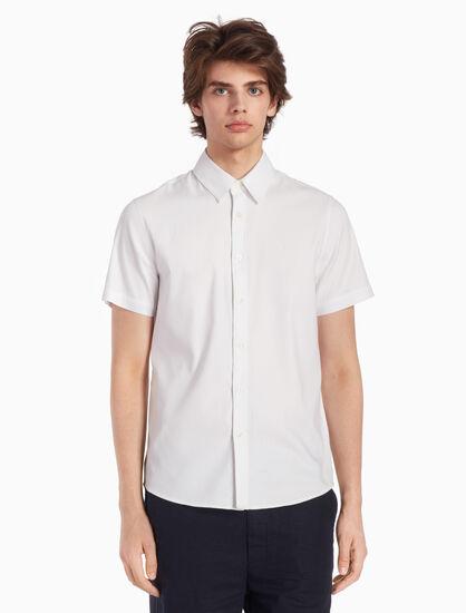 CALVIN KLEIN WOVEN 반소매 셔츠