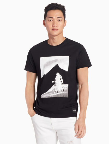 CALVIN KLEIN BMX 그래픽 티셔츠