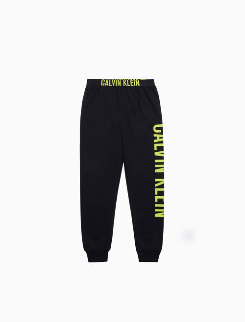 CALVIN KLEIN BOYS LOGO SWEAT PANTS