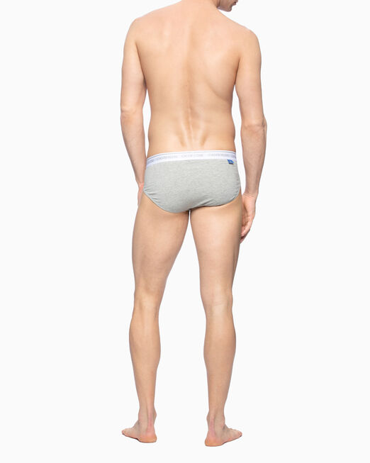 CALVIN KLEIN CK ONE COTTON ALL-OVER PRINT HIP BRIEFS