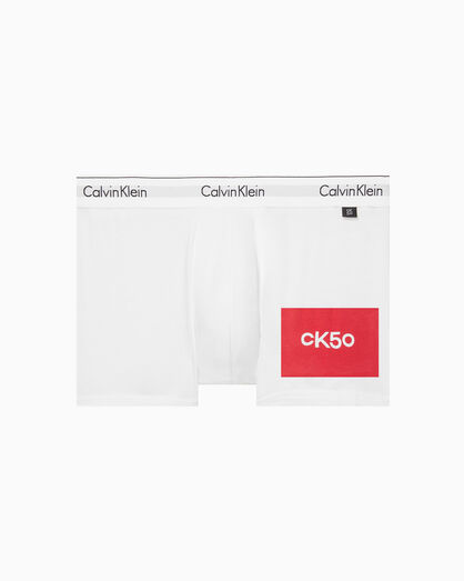 CALVIN KLEIN CK50 LOGO PRINT TRUNK