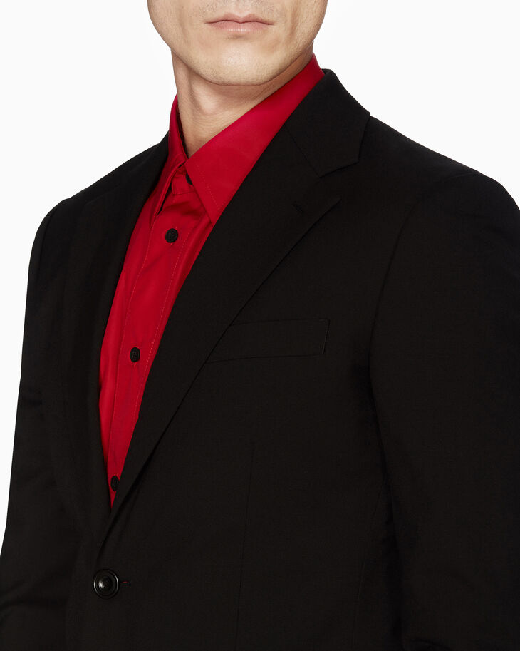 CALVIN KLEIN WOOL UNIFORM BLAZER