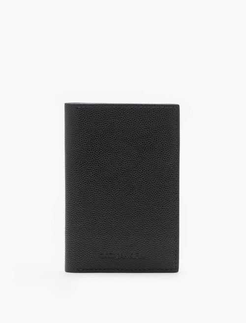 CALVIN KLEIN MICRO PEBBLE 薄型卡片夾