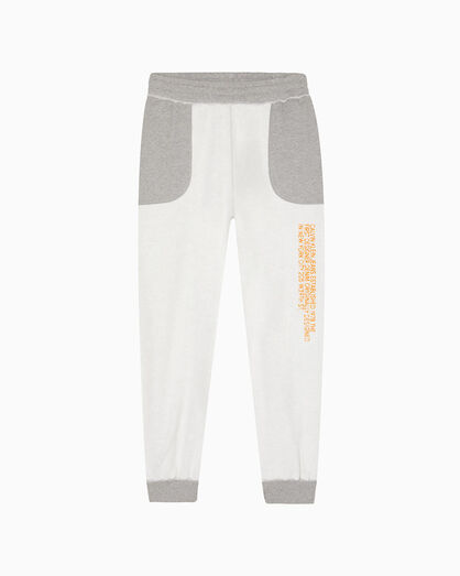 CALVIN KLEIN INSIDE OUT EMBROIDERED EST. 1978 LOGO SWEATPANTS