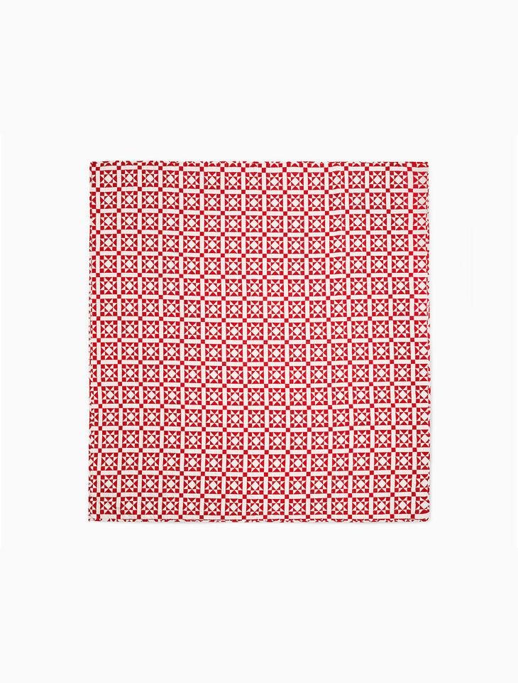 CALVIN KLEIN ABIGAIL QUILT RED 240 X 274 CM