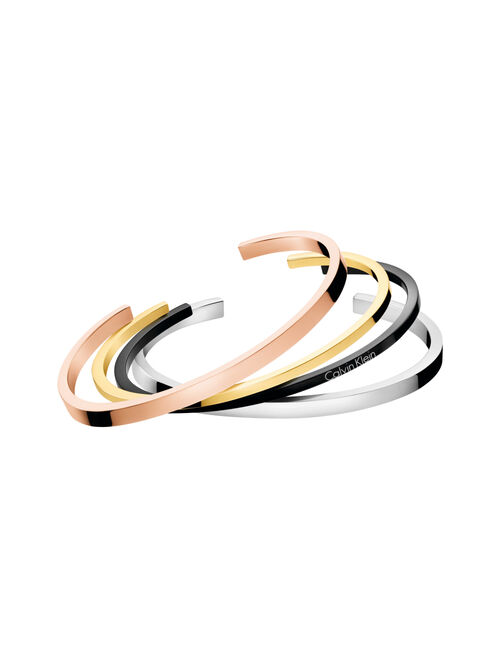 CALVIN KLEIN GORGEOUS EXTENSION OPEN BANGLE