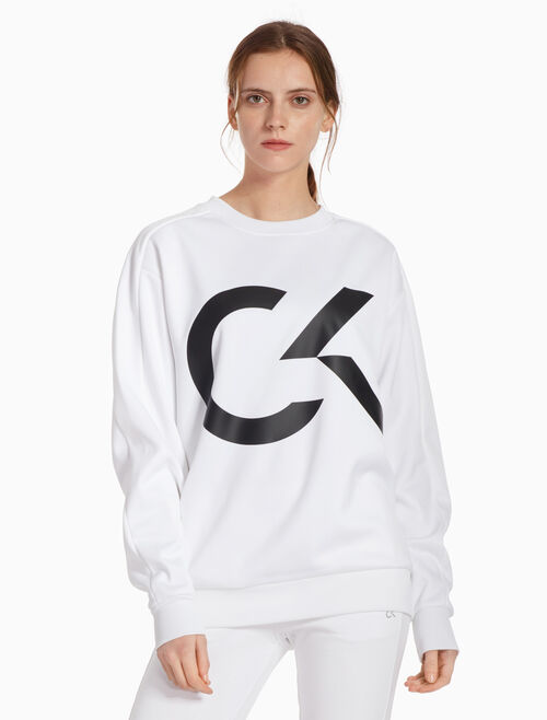 CALVIN KLEIN BIG ICON 套頭運動上衣