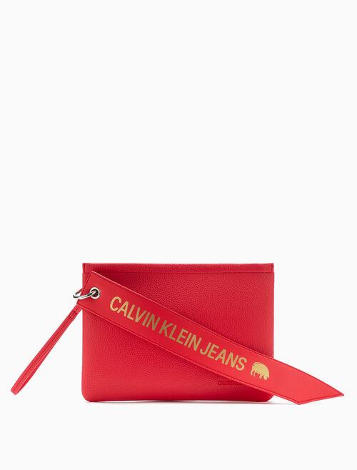 CALVIN KLEIN 農曆新年特別版手拿包