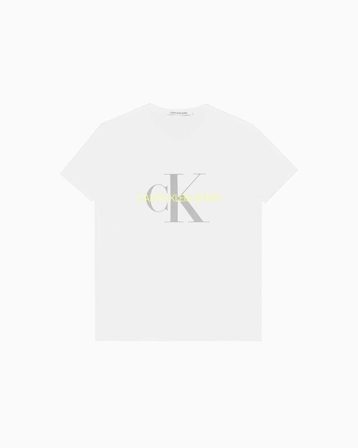 CALVIN KLEIN MONOGRAM LOGO 슬림 티셔츠