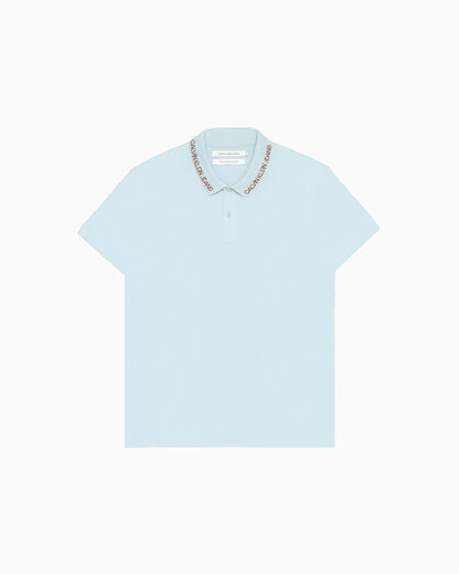 CALVIN KLEIN INSTITUTIONAL PIQUE POLO SHIRT