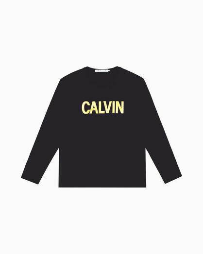 CALVIN KLEIN METALLIC CALVIN LOGO TEE