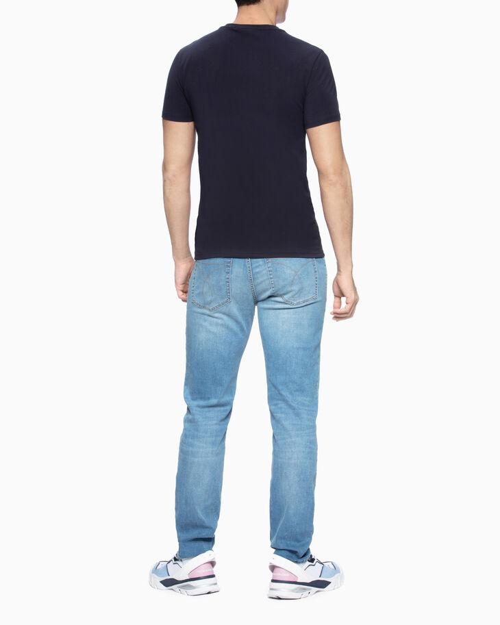 CALVIN KLEIN RUBBERIZED LOGO 티셔츠