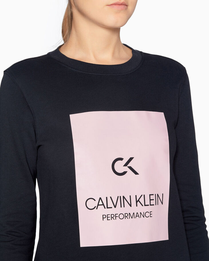 CALVIN KLEIN BILLBOARD 풀오버 스웨트셔츠