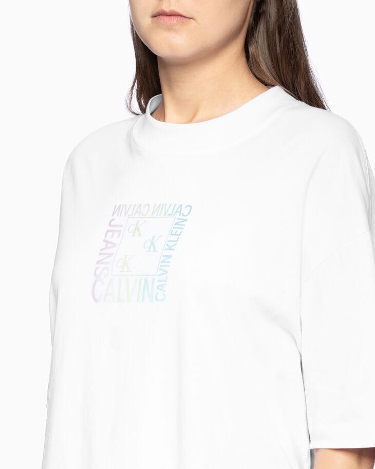 CALVIN KLEIN GRADIENT LOGO GRAPHIC 티셔츠