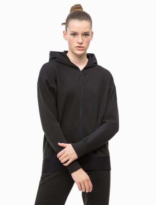 CALVIN KLEIN MODULAR HOODED JACKET