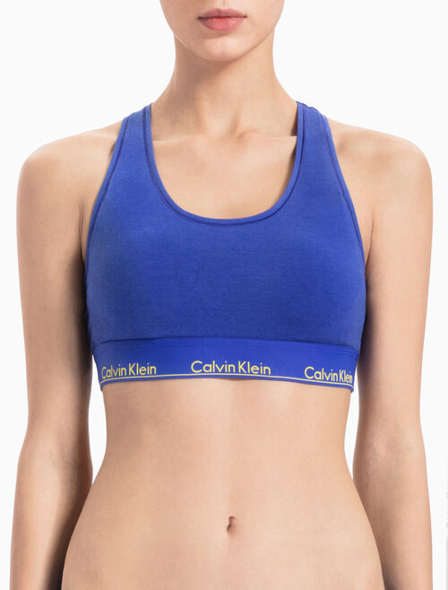 CALVIN KLEIN MODERN COTTON LIGHTLY LINED 無鋼圈內衣