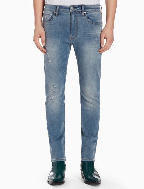 CALVIN KLEIN FRASER BLUE 貼身牛仔褲