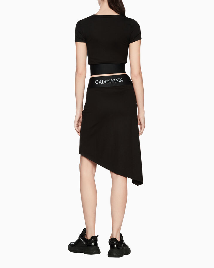 CALVIN KLEIN ACTIVE ICON WRAP OVER SKIRT