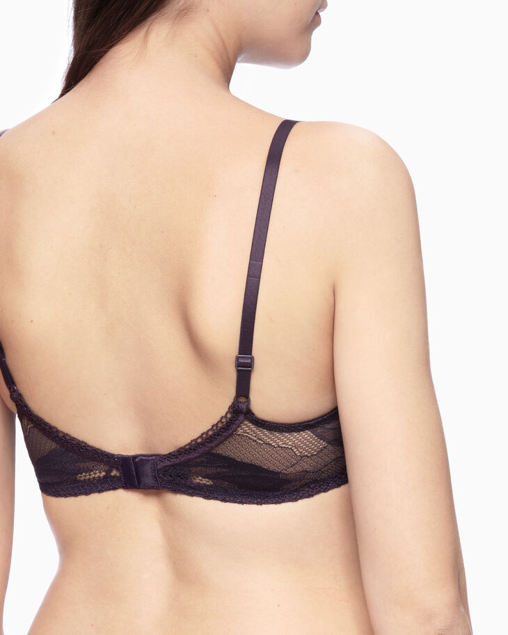 CALVIN KLEIN PETAL LACE LIGHTLY LINED ブラ