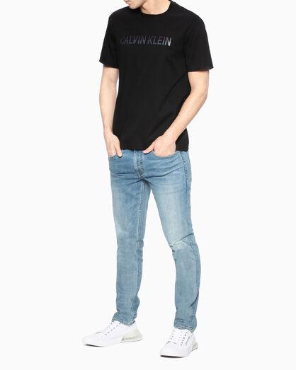CALVIN KLEIN PREMIUM EMBROIDER LOGO 슬림 티셔츠