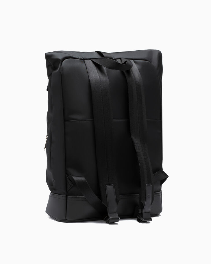 CALVIN KLEIN SLEEK NYLON ROLL TOP BACKPACK 45CM