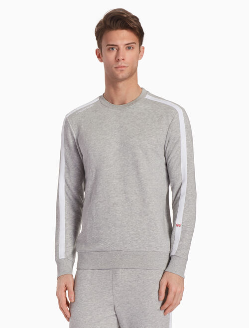 CALVIN KLEIN KNIT LONG SLEEVE SWEATSHIRT
