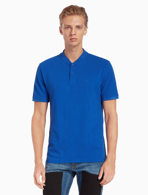 CALVIN KLEIN PRIMO RIBBED POLO SHIRT