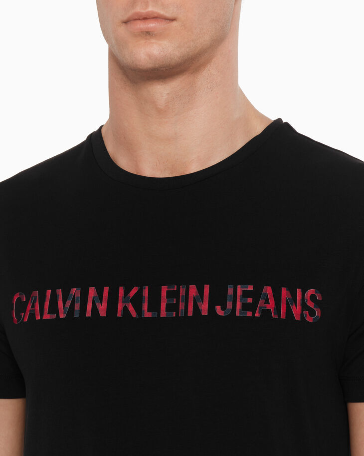 CALVIN KLEIN INSTITUTIONAL BUFFALO LOGO TEE